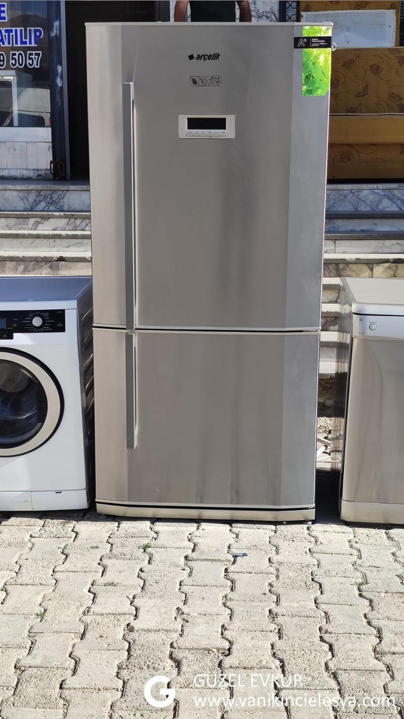 Arçelik Gri 2 Kabılı Buzdolabı